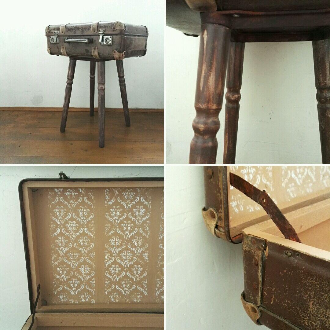 Журнальный столик своими руками из старого чемодана