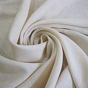 Ткани ручной работы. Ярмарка Мастеров - ручная работа -10%! Итальянский лен кремовый 46113. Handmade.