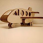 Техника, роботы, транспорт ручной работы. Ярмарка Мастеров - ручная работа Самолет с пилотом и пассажирами. Handmade.