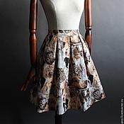 Одежда ручной работы. Ярмарка Мастеров - ручная работа юбка с собаками. Handmade.