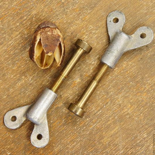 Винтажные предметы интерьера. Ярмарка Мастеров - ручная работа. Купить Пара ручек закруток, винтажные 50-х годов. Handmade.