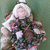 """Куклы и игрушки ручной работы. Ярмарка Мастеров - ручная работа Интерьерная кукольная композиция """"Бабушкино счастье"""". Handmade."""