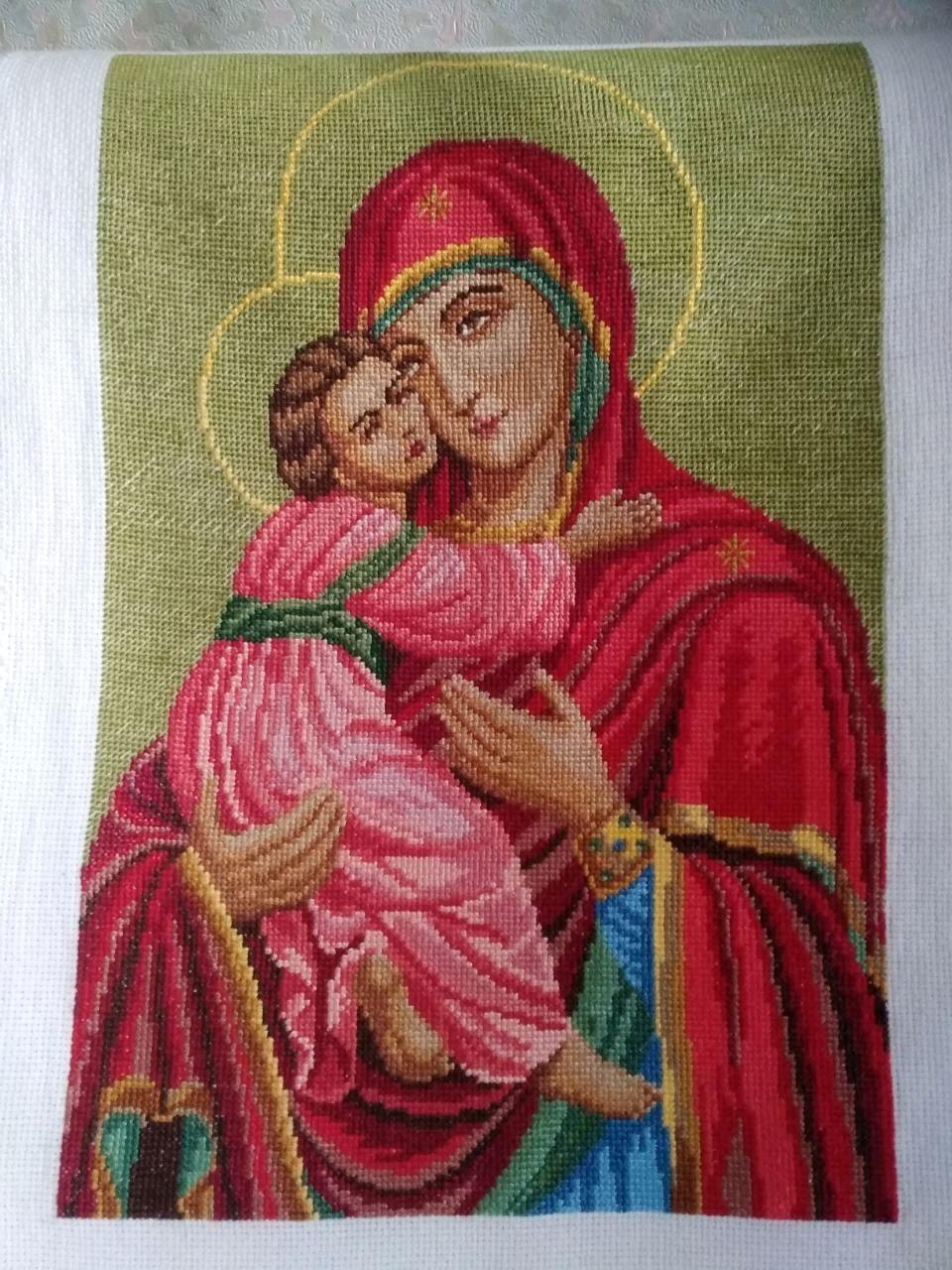 Образ Пресвятой Богородицы. Владимирская, Иконы, Киржач,  Фото №1