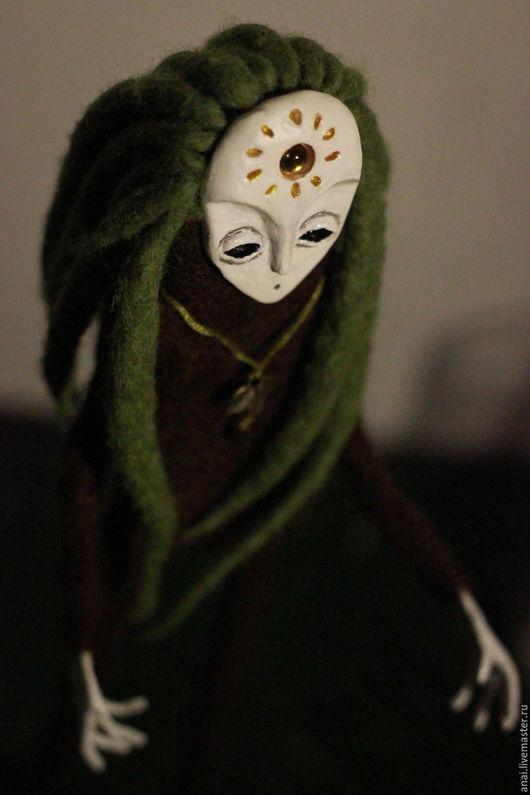 Коллекционные куклы ручной работы. Ярмарка Мастеров - ручная работа. Купить sphagnum. мох. лесной дух, шаман. Handmade. Мох
