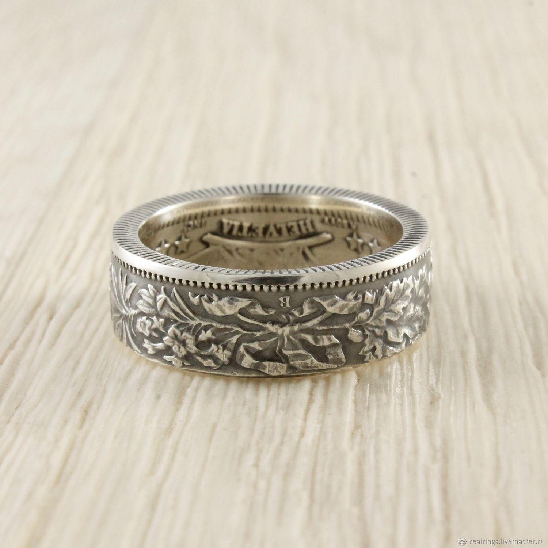 Кольцо из монеты (Швейцария) серебро – купить в интернет-магазине на ... 657de35c9f6