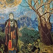 Картины и панно handmade. Livemaster - original item Buddha, Odilon, copy.. Handmade.