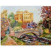 Картины и панно handmade. Livemaster - original item Painting Pavlovsky Park. Handmade.