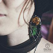 Украшения handmade. Livemaster - original item Forest Wind Earrings (e-036-02). Handmade.