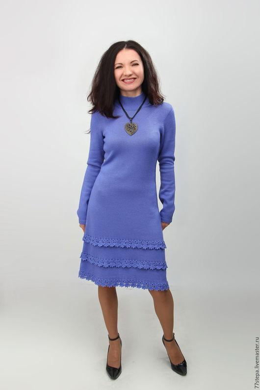 Платья ручной работы. Ярмарка Мастеров - ручная работа. Купить Платье вязаное 2. Handmade. Комбинированный, платье вязаное