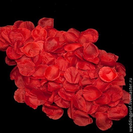 Другие виды рукоделия ручной работы. Ярмарка Мастеров - ручная работа. Купить Лепестки роз. Handmade. Ярко-красный, Декор