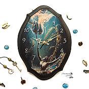 """Для дома и интерьера ручной работы. Ярмарка Мастеров - ручная работа Настенные часы """"Позови меня"""". Handmade."""