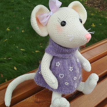 Dolls & toys handmade. Livemaster - original item The symbol of 2020 is a Mouse. Handmade.