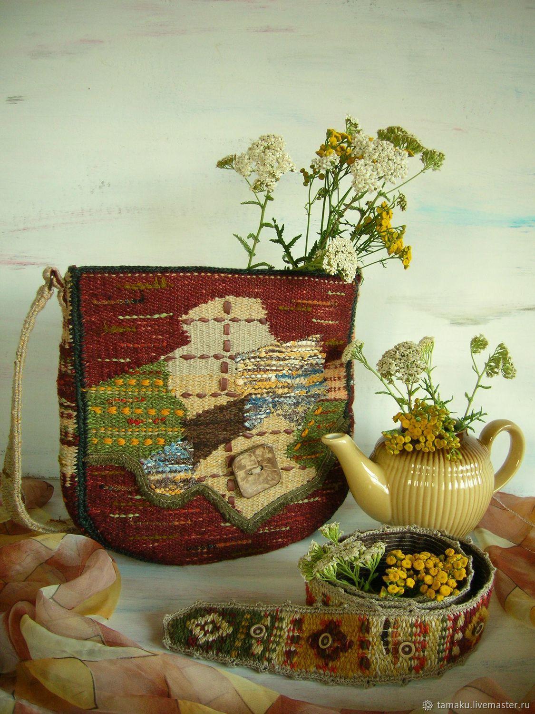 Сумка ручного ткачества Кокос и Джут, Классическая сумка, Пенза,  Фото №1