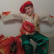 """Работы для детей, ручной работы. Ярмарка Мастеров - ручная работа Костюм """"Цветок Мак"""". Handmade."""