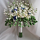 Свадебные цветы ручной работы. Ярмарка Мастеров - ручная работа. Купить Букет невесты из ландышей, фрезии и незабудок. Handmade. Белый