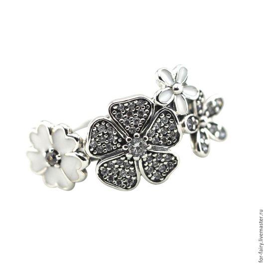 Кольца ручной работы. Ярмарка Мастеров - ручная работа. Купить Кольцо из серебра. Handmade. Белый, кольцо серебро, серебро