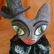 Куклы и игрушки ручной работы. Ярмарка Мастеров - ручная работа Готическая кукла-кошка. Handmade.