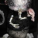 Коллекционные куклы ручной работы. Гарри Потов и Ванная Комната.... Алёна Жиренкина (alenazhirenkina). Ярмарка Мастеров. Призрак, вискоза Германия