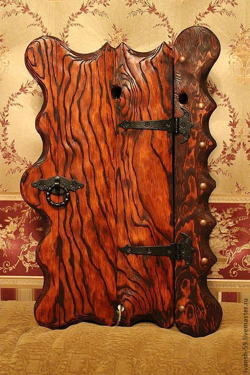 Прихожая ручной работы. Ярмарка Мастеров - ручная работа. Купить Ключница № 2 деревянная. Handmade. Дача, подарок, для дачи