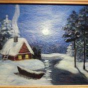 Картины и панно ручной работы. Ярмарка Мастеров - ручная работа Картины из шерсти. Handmade.