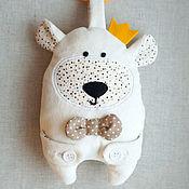 """Куклы и игрушки ручной работы. Ярмарка Мастеров - ручная работа Сенсорная игрушка """"Белый Мишка"""". Handmade."""