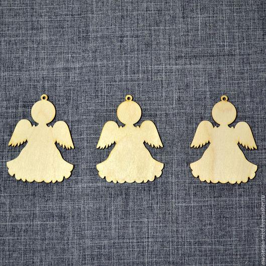 НГ-040. Набор елочных игрушек `Ангелы`