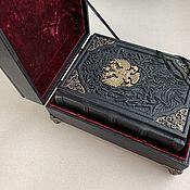 Сувениры и подарки handmade. Livemaster - original item The History of the Russian State in the casket of topics.(leather gift book). Handmade.