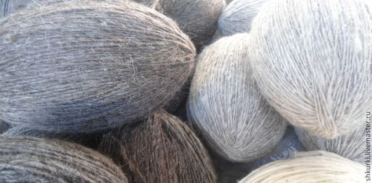 Вязание ручной работы. Ярмарка Мастеров - ручная работа. Купить Пряжа из овечьей шерсти. Цена за 100 гр.. Handmade.