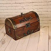 Для дома и интерьера handmade. Livemaster - original item Box: Chest