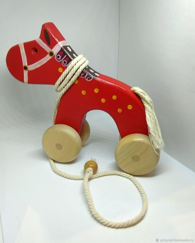 The gurney Red horse, Rolling Toys, Zheleznodorozhny,  Фото №1