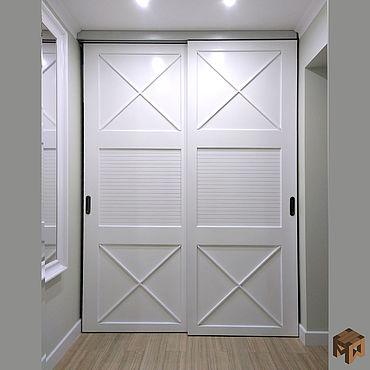 Для дома и интерьера ручной работы. Ярмарка Мастеров - ручная работа Двери: Двери из натурального дерева. Handmade.