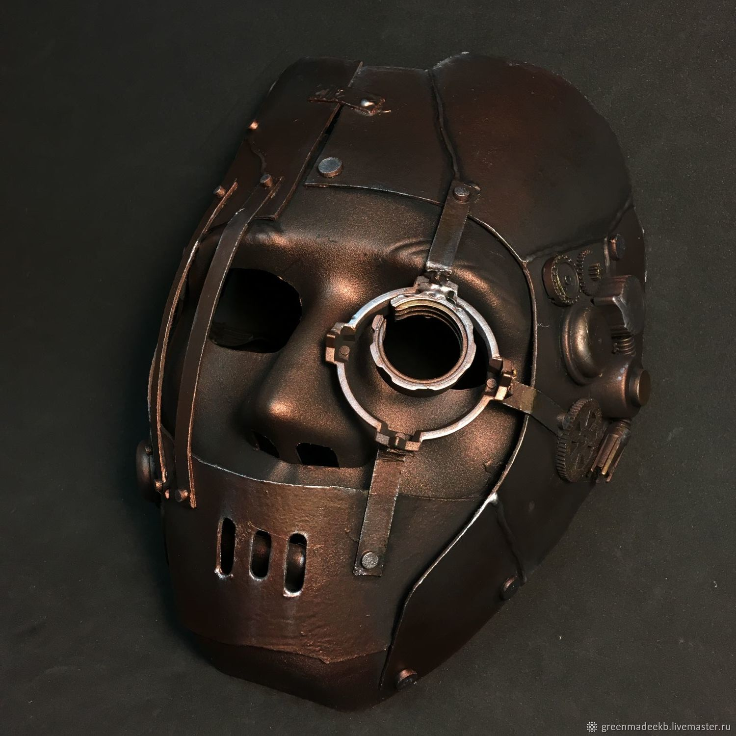 Accessories handmade. Livemaster - handmade. Buy Mask steampunk.Party, mask, plastic