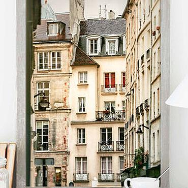 Картины и панно ручной работы. Ярмарка Мастеров - ручная работа Фото картины город, старый Париж Архитектура Гран Огюстен. Handmade.