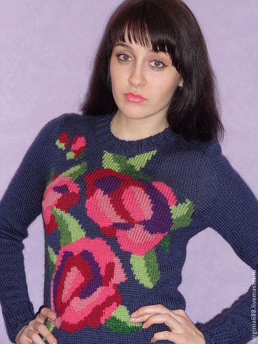 Платья ручной работы. Ярмарка Мастеров - ручная работа. Купить платье BLOSSOM. Handmade. Цветочный, стильно, вязание на заказ