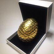 Сувениры и подарки ручной работы. Ярмарка Мастеров - ручная работа Драконье яйцо Gold. Handmade.