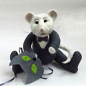 новогодние сувениры, мышка мышка тедди