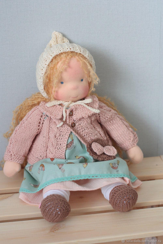 Вальдорфская кукла Николь 38 см, Вальдорфские куклы и звери, Москва,  Фото №1