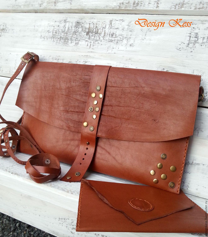 960e5e86bea5 Женские сумки ручной работы. Ярмарка Мастеров - ручная работа. Купить  Кожаная сумка