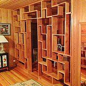 """Для дома и интерьера ручной работы. Ярмарка Мастеров - ручная работа Стеллаж """"Tetris nature"""". Handmade."""