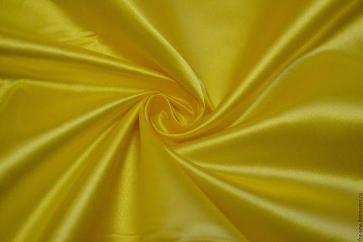 """Шитье ручной работы. Ярмарка Мастеров - ручная работа. Купить Курточная ткань """"БЭЛИС"""" Желтая. Handmade. Желтый, плащевка"""