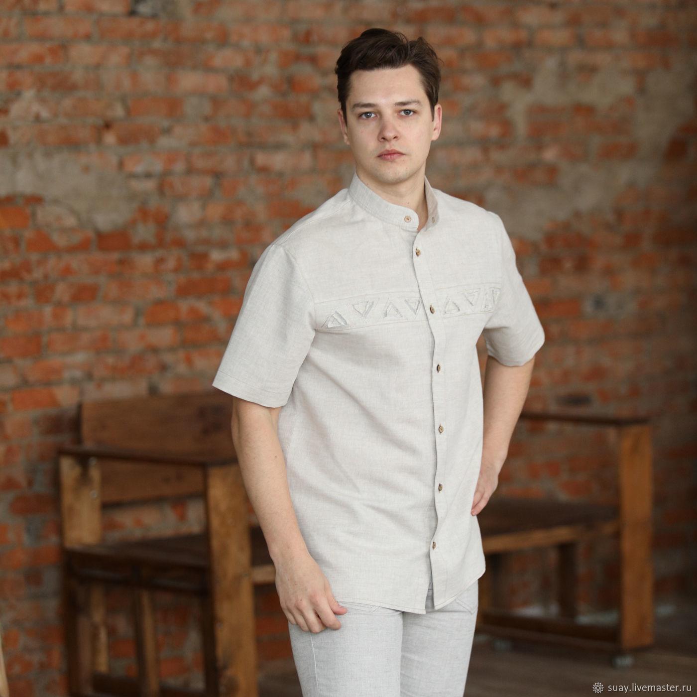 Сорочка мужская С-4, Рубашки мужские, Кострома,  Фото №1