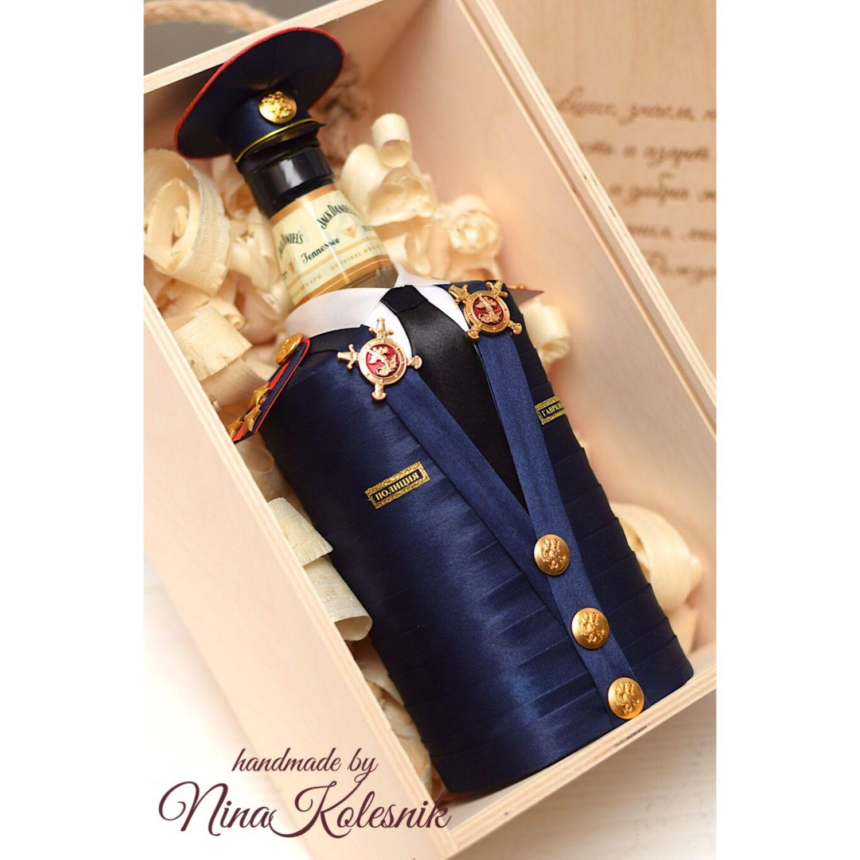 Оформление бутылки шампанского своими руками фото 997