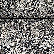 Материалы для творчества ручной работы. Ярмарка Мастеров - ручная работа Жаккард шелковый GORGIO ARMAN абстракция. Handmade.