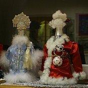 Подарки к праздникам ручной работы. Ярмарка Мастеров - ручная работа Дед Мороз и Снегурочка. Handmade.