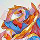 """Картины цветов ручной работы. """"Розовый кристалл ( роза )"""". Картина акрил, холст на картоне.. Людмила Князева. Ярмарка Мастеров."""