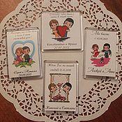 Свадебный салон ручной работы. Ярмарка Мастеров - ручная работа Свадебные магниты (Love is). Handmade.