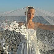 """Фаты ручной работы. Ярмарка Мастеров - ручная работа Свадебная фата """"Венчальная"""". Handmade."""
