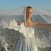 Свадебный салон handmade. Livemaster - original item Wedding veil