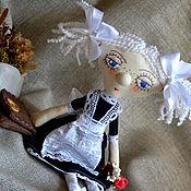 Куклы и игрушки ручной работы. Ярмарка Мастеров - ручная работа Школьница. Handmade.
