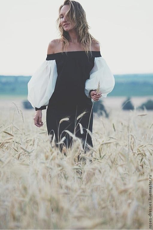 """Платья ручной работы. Ярмарка Мастеров - ручная работа. Купить Платье  """"Victoria"""". Handmade. Черный, подарок"""
